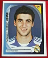 Panini Champions League 2007/08 Gonzalo Higuain Real Madrid * Rookie * sticker