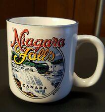 Niagra Falls Canada White Blue Coffee Tea Mug Landscape Photo