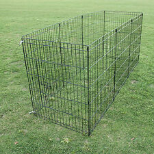 "30"" 8 Panel Pet Playpen Portable Exercise Cage Fence Enclosure Dog Puppy Rabbit"