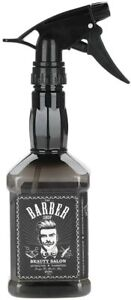 JD Style Barber Shop Jack Spray Bottle Whiskey Daniels Water Mist Sprayer 650ml