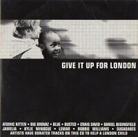 GIVE IT UP FOR LONDON - PROMO CD (2004) ROBBIE WILLIAMS, JAMELIA,  KYLIE MINOGUE