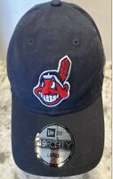 Cleveland Indians New Era Cap 49Forty Core Fitted Large Hat MLB Chief Wahoo