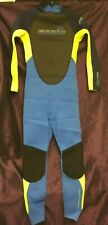 KIDS GSKINS BLUE/GREEN WETSUIT. AGE 12/XL. NEW WITH TAGS