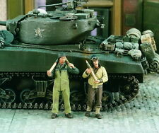 Verlinden 1/35 VP 1960 2 US Tank Crew at the munitionsübername