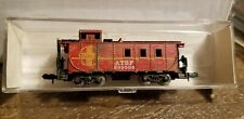 Model Power 3272 ATSF Caboose With Weathering
