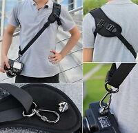 Quick Camera Neck Shoulder Strap Belt Sling for Canon Nikon Fuji Samsung Sony