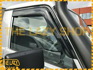 Weathershields, Weather Shields for Toyota LandCruiser 70 76 78 79 2pcs Luxury