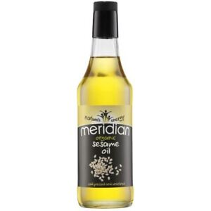 Meridian Foods Organic Sesame Oil Cold Pressed and Unrefined 500ml