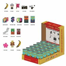 ANDY WARHOL SOUP CAN MINI FIGURES KIDROBOT - NEW LOWER PRICE!