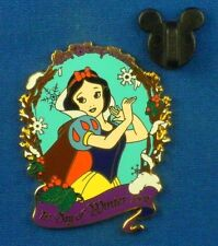 New listing Snow White 1st Day of Winter 2002 Snow Flakes Holly Le-3500 Disney Pin # 17778