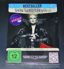 SNOW WHITE & THE HUNTSMAN EXTENDED ÉDITION BLU-RAY STEELBOOK ÉDITION