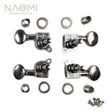 Naomi 2R2L Ukulele Tuning Pegs 4 String Machine Heads Tuners Ukulele Parts New