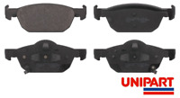 For Honda - Accord MK8 2.0i 2.2 i-DTEC 2008-On (CU)(CW) Front Brake Pads Unipart