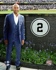 Derek Jeter Next To his Number Retirement Ceremony New York Yankees 8x10 Photo