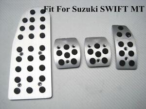 for Suzuki Swift Manual Aluminum Mugen Foot Rest Pedals