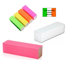 4 x Nail Square Buffer Block for Natural Gel and Acrylic Nails