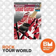 Progressive Books 69381 Beginner Lead Guitar Book/Cd - Brand New