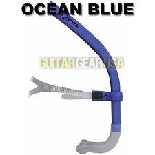 FINIS GLIDE SNORKEL - Introductory Center Mount Snorkel - OCEAN BLUE