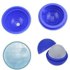 Ice Cube Star Wars Death Star Silicone 3D Food Mould Tray Round Ball Sphere#ke