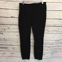 CAbi Size 8 Pencil Trouser Pants Black Career Stretch Dress Skinny D39
