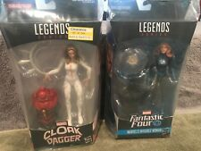 Pair Hasbro Marvel Legends Cloak & Dagger / Fan 4 Inv. Woman New NIB w/BAF