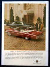 Visualizzazione PUBBLICITARIA ad 1963 Cadillac owners dont 't always agree... (USA)