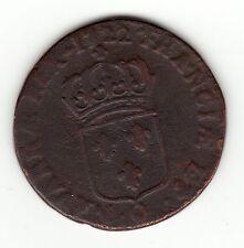 1722 Q French Colonial Copper Sol , Breen class 3 B # 298