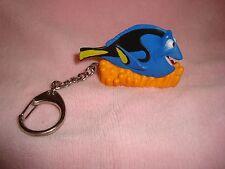 "Disney Pixar Finding Nemo Dory Fish Keychain 1.75"" tall PVC"