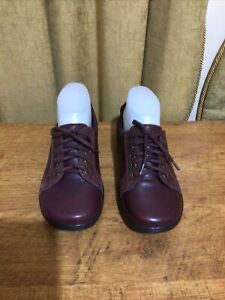 Women's Leather Shoes By Padders, New, Size 37, Inner Sole 24.5 cm