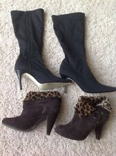 Isaac Mizrahi Boots and Style & Co Boots LOT Size 5.5