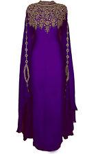 Dubái Caftán Georgette Árabe Elegante Thobe Islámico Elegante Caftán Ms 2020