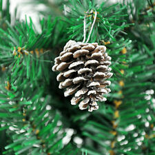 Wholesale Natural 1 Pack of 9 Pine Cones Baubles Xmas Tree Decorations JX