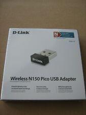 DWA-121 D-Link WiFi N150 Pico USB Adapter Mini Wireless 150Mbps W10 micro dongle