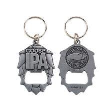 New GOOSE ISLAND IPA Metal Key Chain Beer Bottle Opener Bourbon County Budweiser