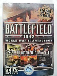 Battlefield 1942: World War II Anthology ROME SECRET WAPONS (PC 2004) NEW SEALED