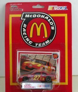 MCDONALDS NASCAR RACING CHAMPIONS FORD THUNDERBIRD #27 TEXAS PETE