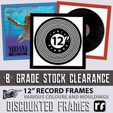 "Rubix orange 12"" vinyl or cover Record Picture Frame FREE DELIVERY B GRADE STOCK"