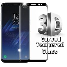 3D Full Curved Front Tempered Glass Real Screen Protector For Samsung Galaxy S8