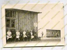Foto, Luftwaffe, Soldaten und Krankenschwestern in Kowel, Ukraine, a (N)20074