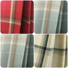 Belfield Design Hayden Tartan Checked Lattice Curtain Fabric Material 145cm wide