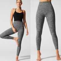 Beyond Yoga Size XS Spacedye Caught In The Midi Leggings Grey Gray High Rise 7/8