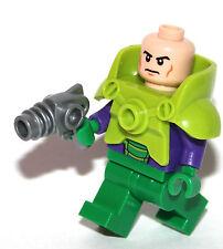 dc superheroes ORIGINAL Lego LEX LUTHOR mini figure from 10724 chest armour