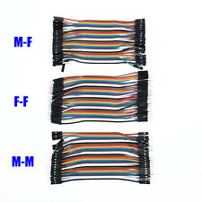 Lead For Arduino Jumper Cable Breadboard M F Male To Female 120pcs Good Dupont