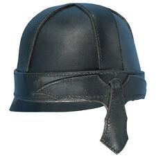 Warrior Leather Helmet, Black or Brown, M, L, Steampunk,Medieval,Cosplay,LARP