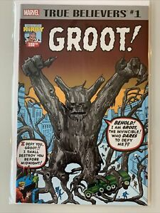 True Believers Groot #1 Reprint of Tales to Astonish #13 1st Appearance of Groot