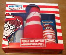 Where's Wally Hat/Shower Gel & Deodorant Gift Set