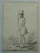 LITHOGRAPHIE HERZOG ERNST I. SACHSEN-COBURG GOTHA 1835  ca. 15 x 20,5 cm INGER