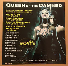 AALIYAH Queen of the Damned LARGE PROMO POSTER of 2002 CD 24x24 NEVER DISPLAYED