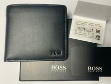 MEN'S DESIGNER HUGO BOSS WALLET STYLE ''MAJESTIC S_8 CC''  50397483 BLACK