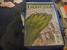 World War Hulk: Front Line (2007); 1, 2, 3, 4, 5, 6; 6 issue lot/run